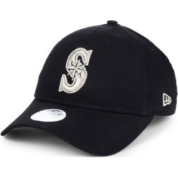 New Era Women's Seattle Mariners Foil Script Hook 9TWENTY Strapback Cap found on Bargain Bro India from Macy's for $26.00