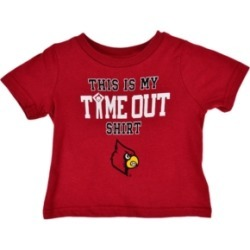Outerstuff Baby Louisville Cardinals On Time Out T-Shirt found on Bargain Bro India from Macy's for $14.00