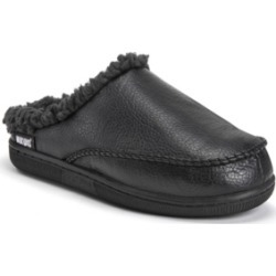 Muk Luks Men's Faux Leather Clog Slippers Men's Shoes found on Bargain Bro India from Macys CA for $27.36