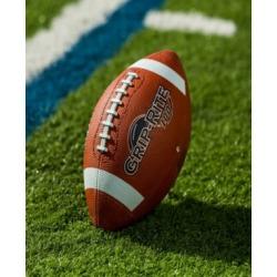 Franklin Sports Grip - Rite 100 Rubber Football - Junior