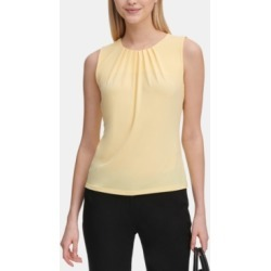 Calvin Klein Sleeveless Pleated Top found on MODAPINS from Macy's for USD $24.98
