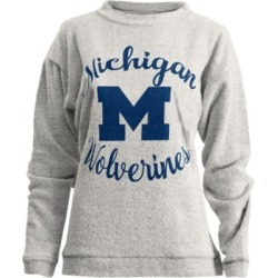 Pressbox Women's Michigan Wolverines Comfy Terry Sweatshirt found on Bargain Bro India from Macy's for $46.00