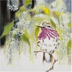 Stephanie Aguila Jeweled Canvas Art - 15.5