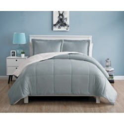 Vcny Home Micromink Sherpa Comforter Set, King Bedding