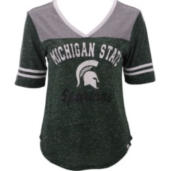 Colosseum Women's Michigan State Spartans Mr Big V-neck T-Shirt found on Bargain Bro India from Macy's for $32.00