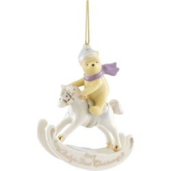 Closeout! Lenox 2019 Winnie the Pooh Baby's 1st Christmas Ornament