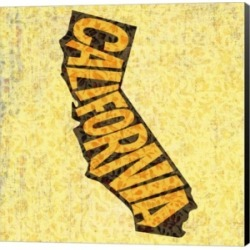 California on Pattern by Art Licensing Studio Canvas Art found on Bargain Bro India from Macys CA for $40.07