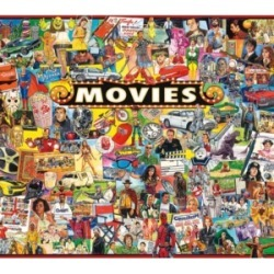 White Mountain Puzzles The Movies 1000 Piece Jigsaw Puzzles