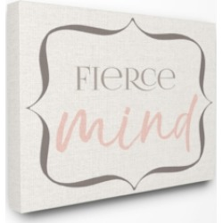 "Stupell Industries Elegant Fierce Mind Canvas Wall Art, 30"" x 40"""