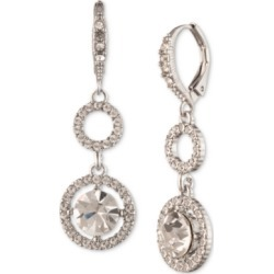 Givenchy Silver-Tone Crystal Drop Earrings found on Bargain Bro India from Macy's for $38.25