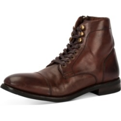 Frye Men's Ben Cap-Toe Leather Lace-Up Boots, Created for Macy's Men's Shoes found on Bargain Bro India from Macy's Australia for $180.32