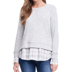 Fever 2-Fer Sweatshirt found on MODAPINS from Macy's for USD $58.00
