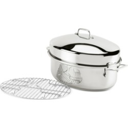 All-Clad Stainless Steel Oval Roaster & Rack