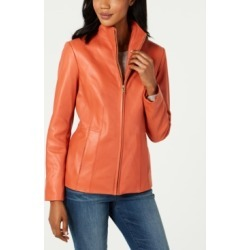 Cole Haan Wing Collar Leather Jacket found on MODAPINS from Macys CA for USD $176.99