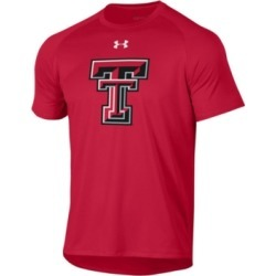 Under Armour Men's Texas Tech Red Raiders Big Logo Performance T-Shirt found on Bargain Bro India from Macy's for $35.00