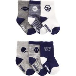 Carter's Baby Boys Socks, Pack of 6