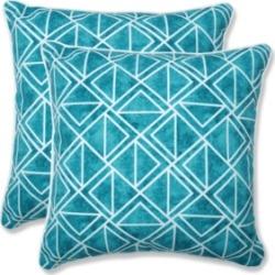 Pillow Perfect Lanova Peacock Throw Pillow, Set of 2