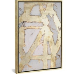 """iCanvas Ace of Spades in Gold I by Erin Ashley Gallery-Wrapped Canvas Print - 40"""" x 26"""" x 0.75"""""""