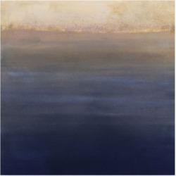 "Victoria Borges Indigo Sundown Ii Canvas Art - 15"" x 20"""