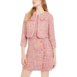 Betsey Johnson Tweed Coverup Jacket found on Bargain Bro India from Macy's Australia for $157.24