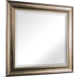 American Art Decor Leighton Wood Grain Wall Vanity Mirror