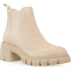 Steve Madden Women's Howler Lug-Sole Chelsea Booties found on Bargain Bro from Macy's for USD $75.24