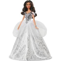 Barbie 2021 Holiday Wavy Brunette Hair Barbie Doll