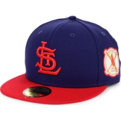New Era St. Louis Cardinals World Series Patch 59FIFTY Fitted Cap found on Bargain Bro Philippines from Macy's for $37.99
