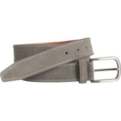 Johnston & Murphy Perfed Suede Belt found on Bargain Bro India from Macys CA for $52.10