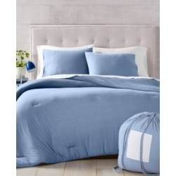 Martha Stewart Collection Essentials Jersey 3-Pc. Twin Comforter, Created for Macy's Bedding