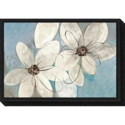 Amanti Art Blue and Neutral Floral by Silvia Vassileva Canvas Framed Art found on Bargain Bro Philippines from Macy's Australia for $91.69