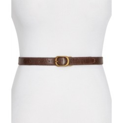 Frye & Co Reversible Skinny Crinkle Leather Belt found on Bargain Bro India from Macy's for $38.00