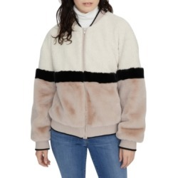 Sanctuary Blockparty Faux-Fur Bomber Jacket found on MODAPINS from Macy's Australia for USD $67.60