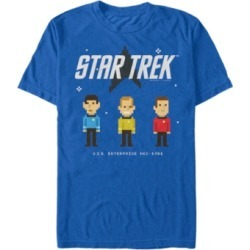 Star Trek Men's The Original Series Pixelated Crew Short Sleeve T-Shirt found on Bargain Bro Philippines from Macy's for $24.99