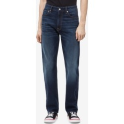 Calvin Klein Jeans Men's Relaxed Straight-Fit Jeans found on MODAPINS from Macy's for USD $39.99