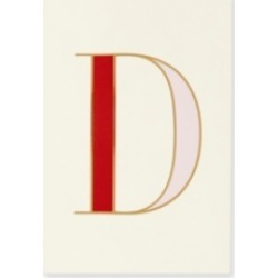 Kate Spade New York It's Personal Initial Collection Notepad, D