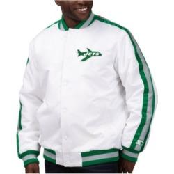 Starter Men's New York Jets The D-Line Starter Satin Jacket