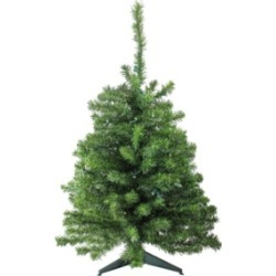 Northlight 3' Pre-Lit Led Canadian Pine Artificial Christmas Tree - Clear Lights found on Bargain Bro India from Macys CA for $105.62