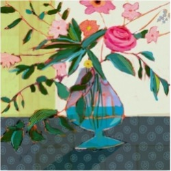 """Victoria Borges Fanciful Flowers Ii Canvas Art - 15"""" x 20"""""""