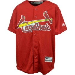 Majestic St. Louis Cardinals Replica Jersey, Big Boys (8-20) found on Bargain Bro Philippines from Macy's for $55.00