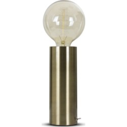 American Art Decor Modern Industrial Cylinder Accent Table Lamp