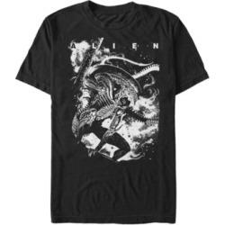 Men's Aliens Alien Dark Short Sleeve T-shirt found on MODAPINS from Macy's for USD $24.99