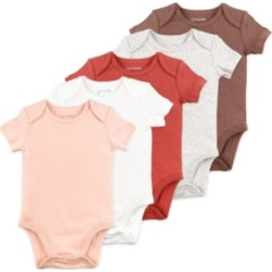 Mac & Moon Baby Girl 5pk Ss Bodysuit found on Bargain Bro India from Macy's for $22.00
