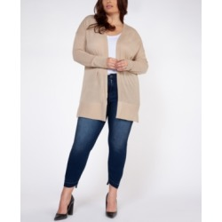 Plus Size Open-Front Cardigan found on MODAPINS from Macy's for USD $34.50