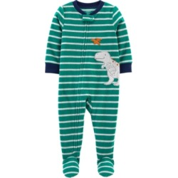 Carter's Toddler Boy 1-Piece Dinosaur Fleece Footie PJs found on Bargain Bro India from Macy's for $12.00