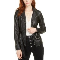 Guess Teona Faux-Leather Jacket found on MODAPINS from Macy's for USD $76.80