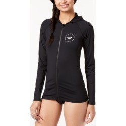 Roxy Juniors' Hooded Rash Guard Women's Swimsuit found on MODAPINS from Macy's for USD $55.00