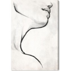 Oliver Gal White Contour Canvas Art, 30