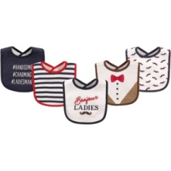 Hudson Baby Drooler Bibs, 5-Pack, One Size found on Bargain Bro India from Macys CA for $15.73