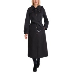 London Fog Petite Hooded Maxi Trench Coat found on MODAPINS from Macy's Australia for USD $175.84
